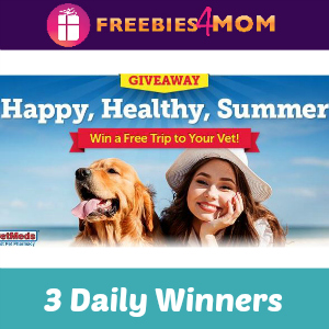 Sweeps 1-800-PetMeds Happy, Healthy, Summer