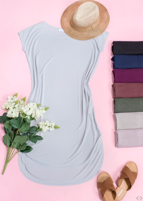 T-Shirt Midi Dress Sale