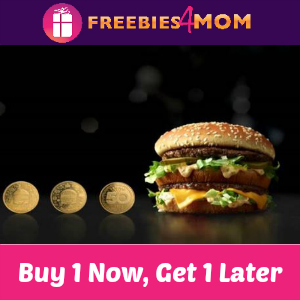 Buy One Big Mac Now, Get One Free Later