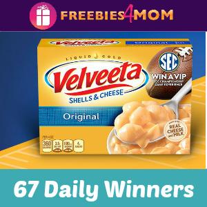 Sweeps Velveeta SEC (67 Daily Winners)