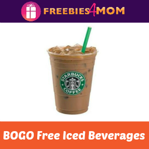 Starbucks BOGO Free Iced Beverages Aug. 16