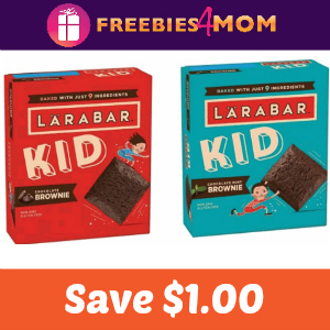 Coupon: Save $1.00 on LÄRABAR Kid Brownie