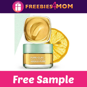Free Sample L'Oreal Paris Pure-Clay Mask