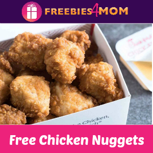 Free Chicken Nuggets at Chick-fil-A