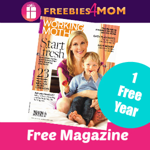 Free Working Mother Magazine ($9.97 value)
