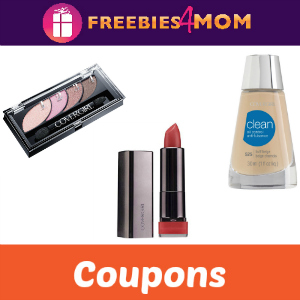 Save on Covergirl Face, Eye & Lip Products