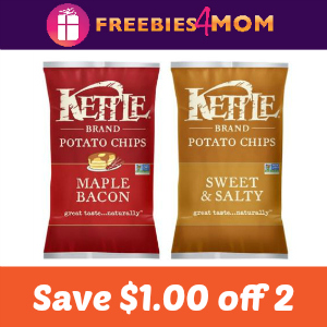 Coupon: Save $1.00 on 2 Kettle Brand