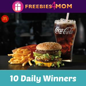 Sweeps Coca-Cola McDonald's Arch Card