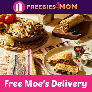 Free Moe's Southwest Grill DoorDash Delivery