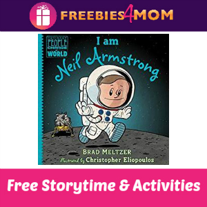 B&N I Am Neil Armstrong Storytime