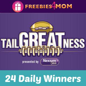 Sweeps Nexium Tailgate (24 Daily Winners)