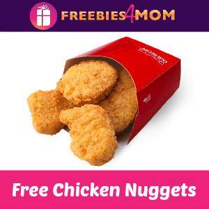Free 4-piece Chicken Nuggets at Wendy's