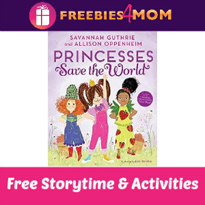 B&N Princesses Save the World Storytime