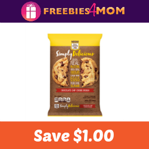 Save $1.00 on Nestle Toll House Simply Delicious