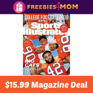 Magazine Deal: Sports Illustrated $15.99