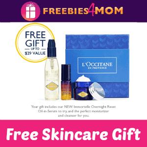 Free L'Occitane Skincare Gift (In-store)
