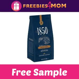 Free Sample Folgers 1850 Coffee