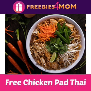 Free Chicken Pad Thai at P.F. Chang's