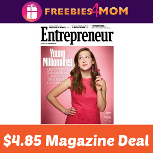 Magazine Deal: Entrepreneur $4.85