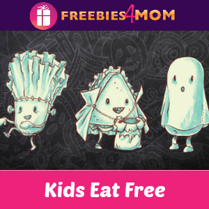 Kids Eat Free at McAlister's Deli Halloween