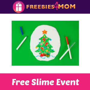 Free Christmas Doodle Slime Party at Michaels