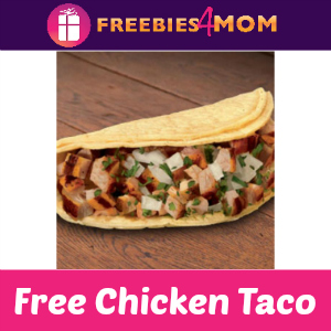 Free Chicken Taco Al Carbon at El Pollo Loco