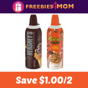 $1.00 on 2 Hershey's or Reese's Whipped Topping