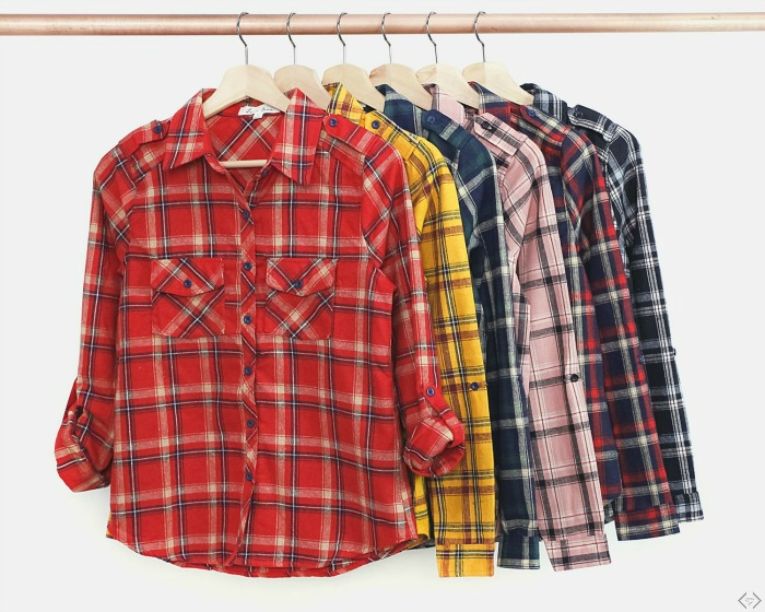 40% off Flannels (Starting Under $20)