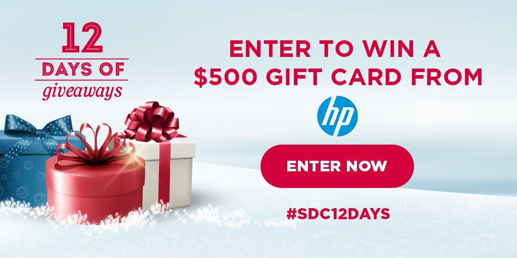 HP $500 Giveaway