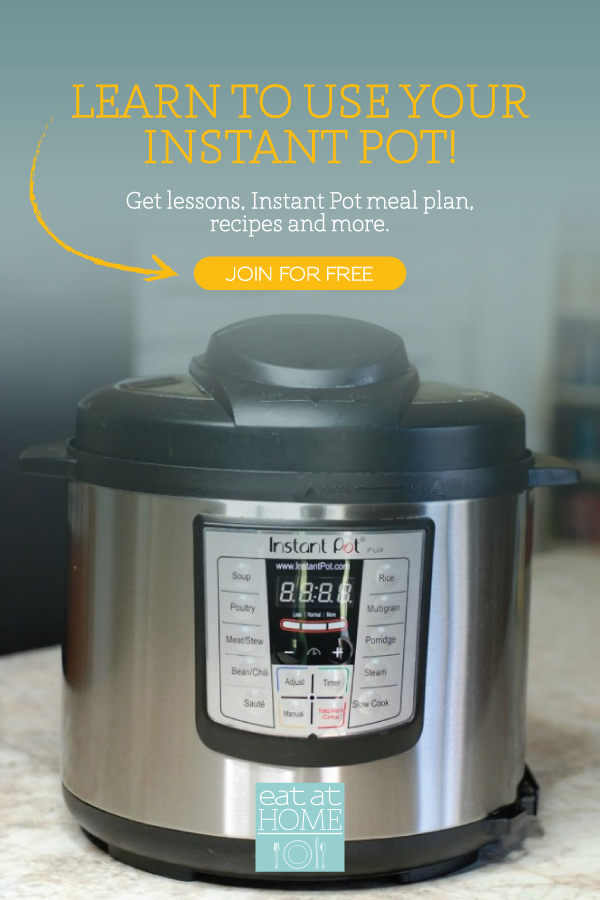 Free Instant Pot Meal Plan