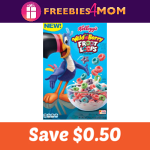 Coupon: Save $0.50 on Wild Berry Froot Loops
