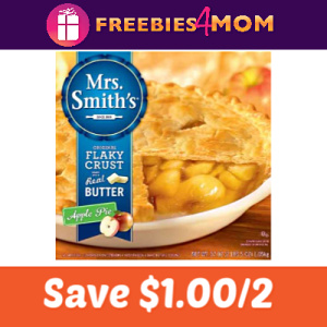 Coupon: Save $1.00 on any 2 Mrs. Smith's Pies