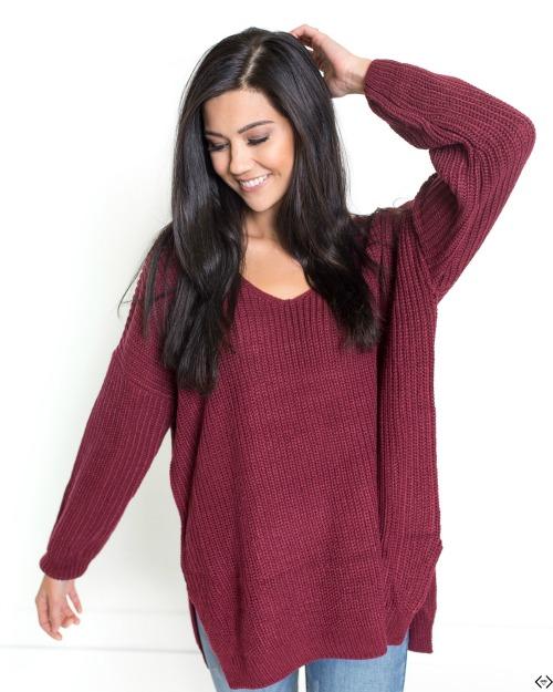 Oversized Chunky Knit Sweater $26.95