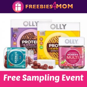 Free OLLY Sampling Event at Target Jan. 12