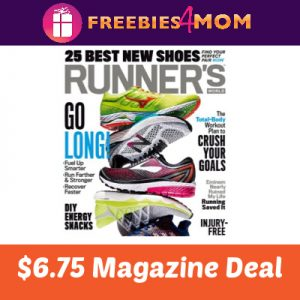 Magazine Deal: Runner's World $6.75