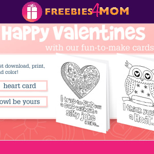 💌Free Printable Valentine's from Company Kids