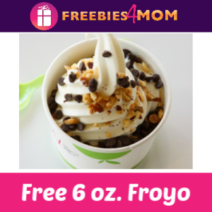 Free 6 oz Frozen Yogurt at TCBY Feb. 6