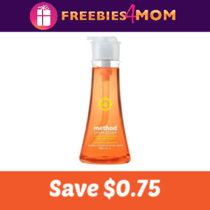 Coupon: Save $0.75 off Method Dish Soap