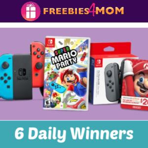 Sweeps Yoplait Nintendo Switch