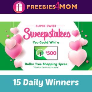 Sweeps Dollar Tree Customer Appreciation