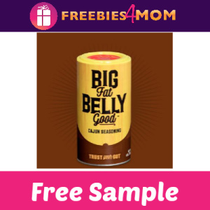 Free Sample Big Fat Belly Good Cajun Seasoning