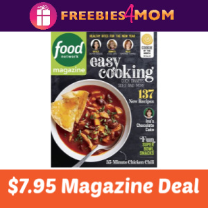 🍜Food Network Magazine $7.95