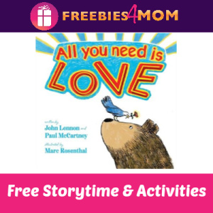 Free All You Need Is Love Storytime