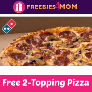 Earn a Free Domino's Pizza Starting Feb. 2