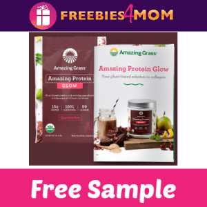Free Sample Amazing Grass Protein Glow
