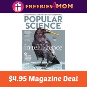 Magazine Deal: Popular Science $4.95