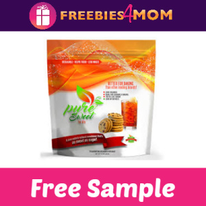 Free Sample Pure Sweet for Life Sweetener