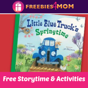 Little Blue Truck Storytime at Barnes & Noble