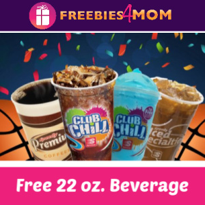 Free 22 oz Beverage from Speedway