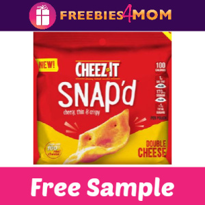 Free Sample Cheez-It Snap'd Crackers